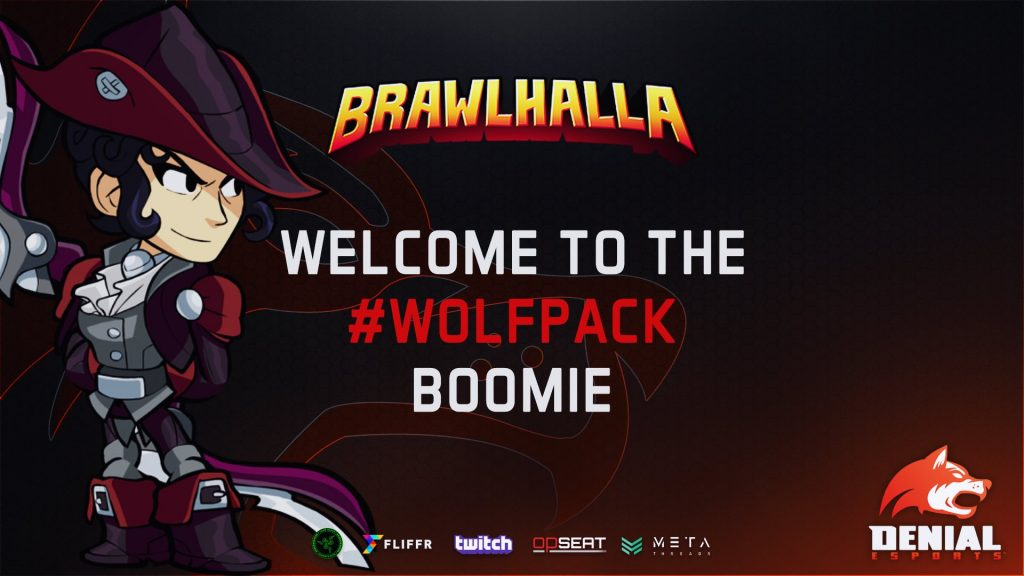 Welcome Boomie to the WolfPack!