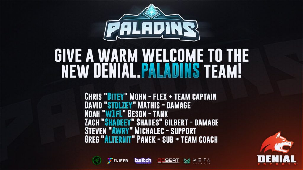 Denial Esports Enters The Realm!