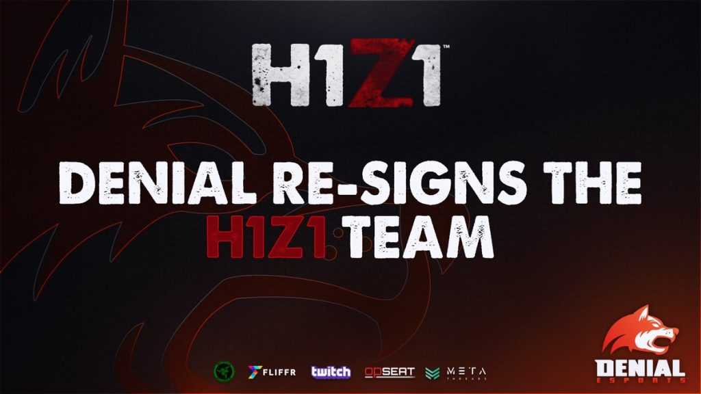 Denial Renews Contracts with H1Z1 Team