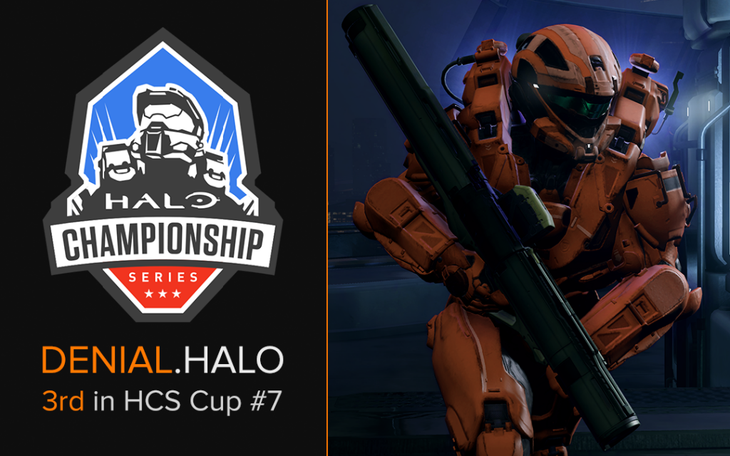 Denial.Halo Places 3rd in HCS Cup #7