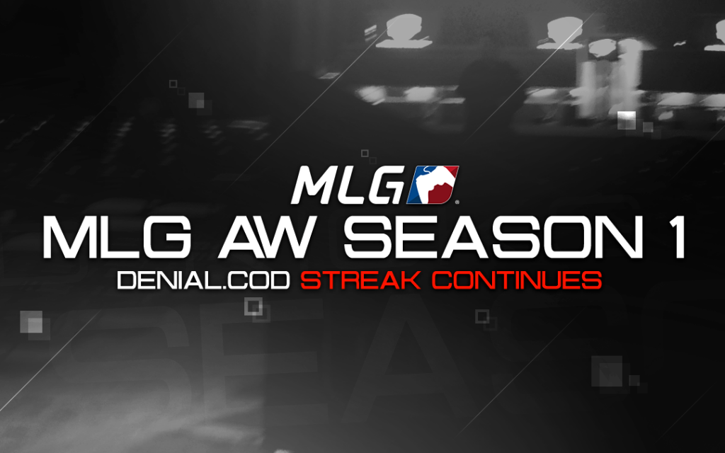 Streak Continues for Denial.CoD in MLG AW Season 1