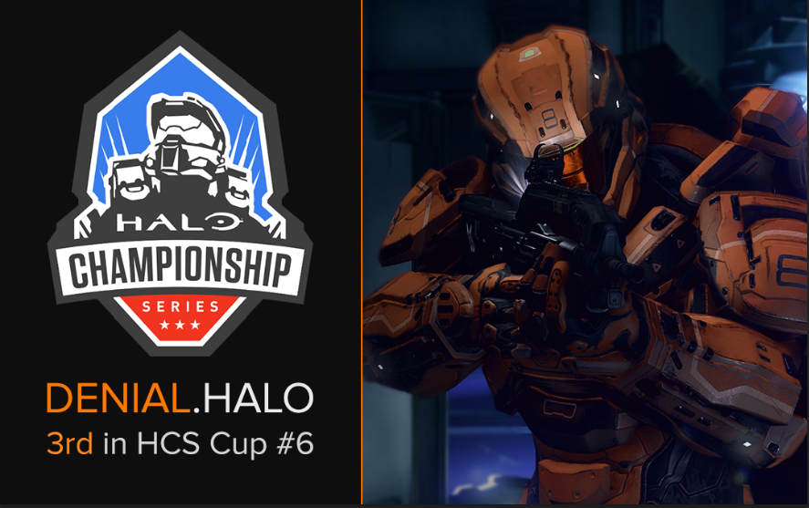 Denial.Halo Places 3rd in HCS Cup #6